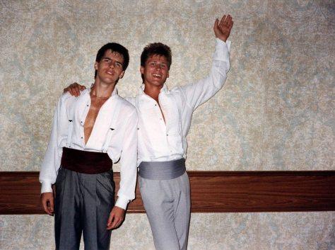 87.Jun.11 - Burlington · Blake Paterson & Gabriel Dusil (high school prom)