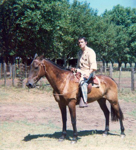 77.Jul - Jamaica · Vaclav Dusil (horseback)