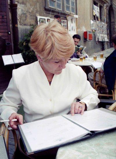 98.May - Rome · Eva Dusil (Cafe menu)
