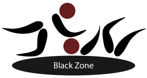 Graphic - Pictogram (fighter boxing kickboxing judo wrestling mma)_Black zone, grappling